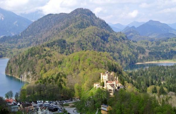 Predĺžený víkend v Alpách - Zámok Neuschwanstein