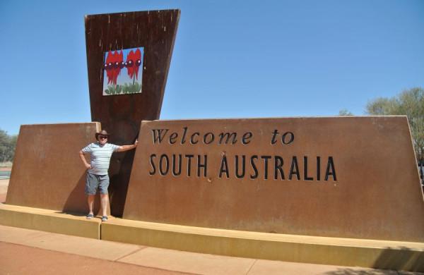 Vstup do južnej Austrálie