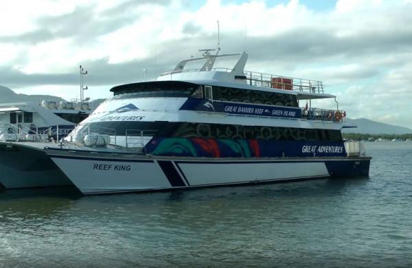 Loď od Great Adventure