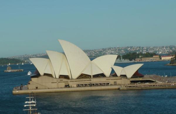 Sydney - budova opery