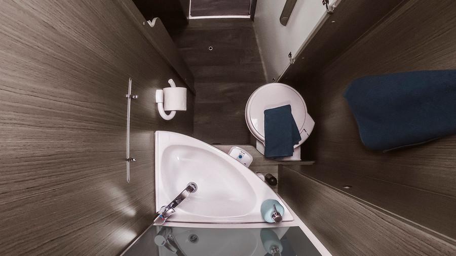 kúpeľňa s WC v Carado T447