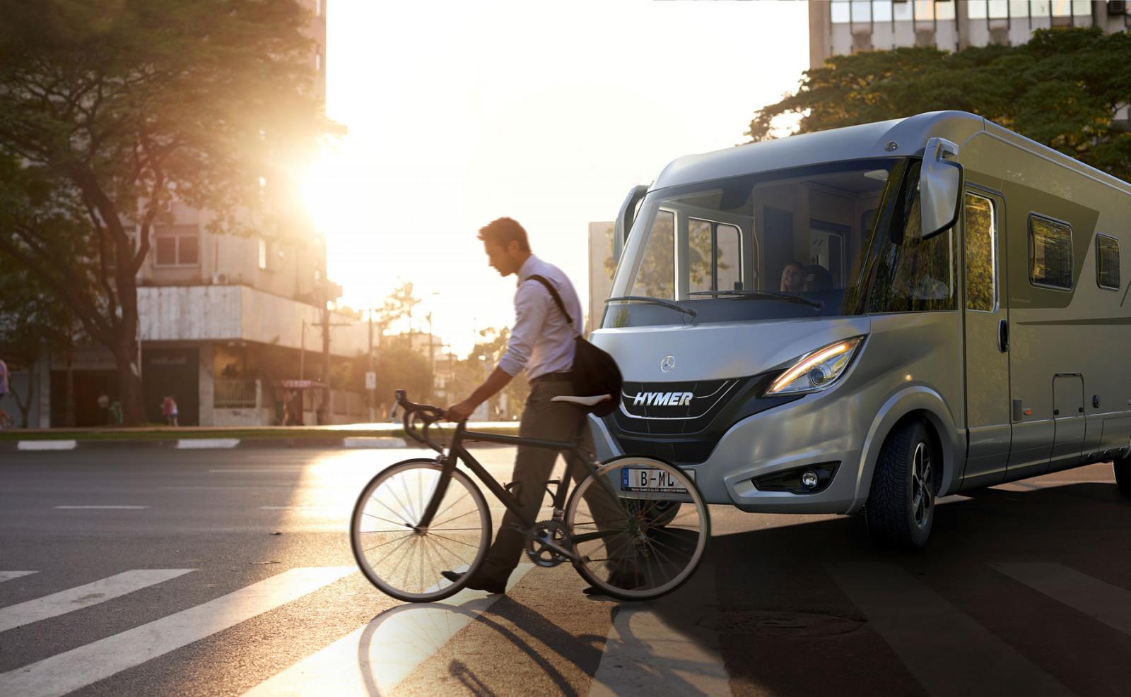 S Hymermobil B-Klasse MasterLine sa svet stane domovom a každý výlet do mesta potešením.