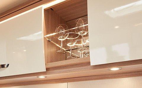 LED osvetlenie na poličke