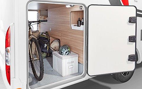 Úložný priestor na bicykle