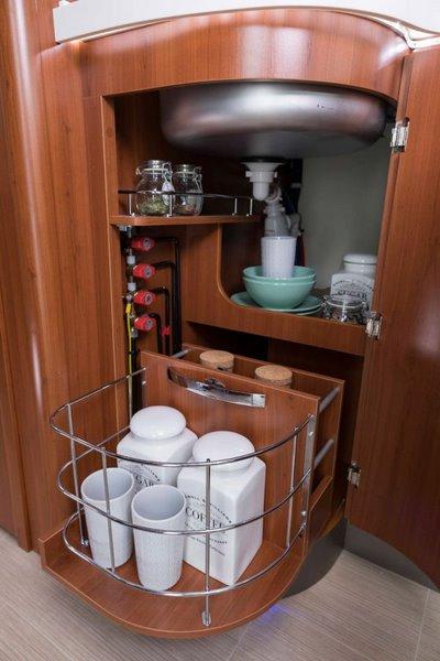 kuchyňa K-Yacht 90 Tekno Line (drevo Classico)